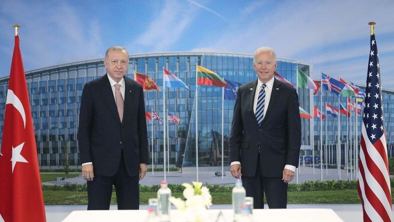 Cumhurbaşkanı Erdoğan ve ABD Başkanı Biden arasındaki görüşme sona erdi