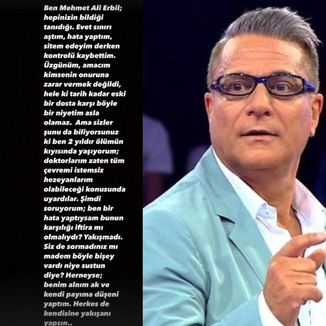 CEVAP GELDİ! Son dakika: Mehmet Ali Erbil'den Seda Sayan'ın tecavüz iddiasına yanıt! Seda Sayan ne dedi?