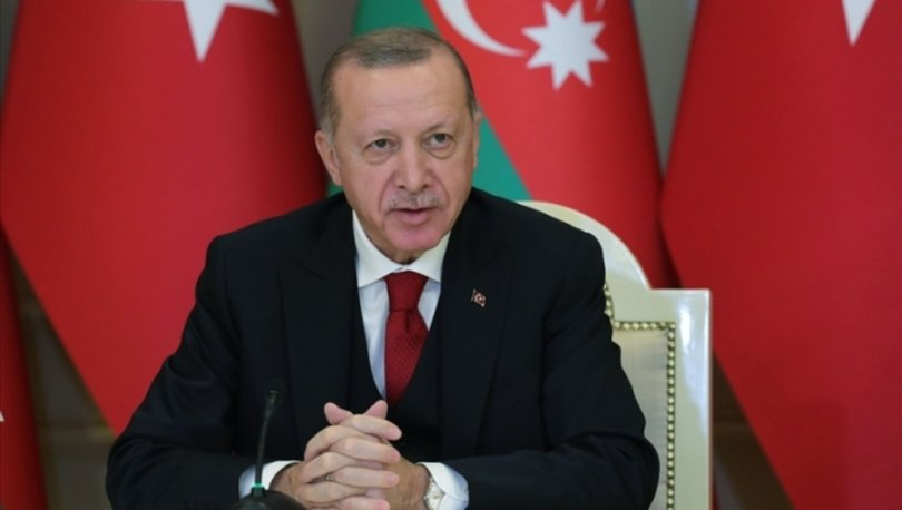 Son dakika... Cumhurbaşkanı Erdoğan Azerbaycan'a geldi