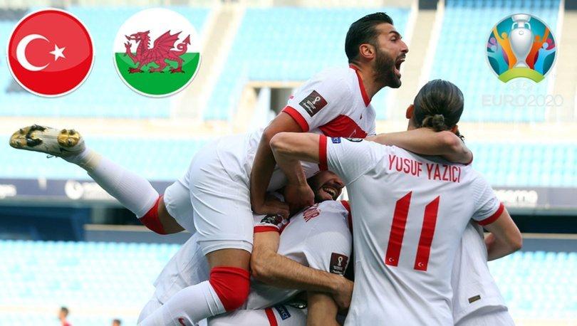 Türkiye, EURO 2020'deki ikinci maçında Galler karşısında
