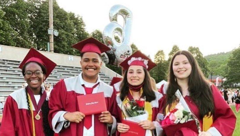 17 yaşındaki Verda Tetteh, o hareketiyle ayakta alkışlandı