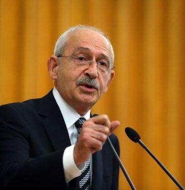 CHP lideri Kemal Kılıçdaroğlu partisinin grup toplantısında konuşuyor
