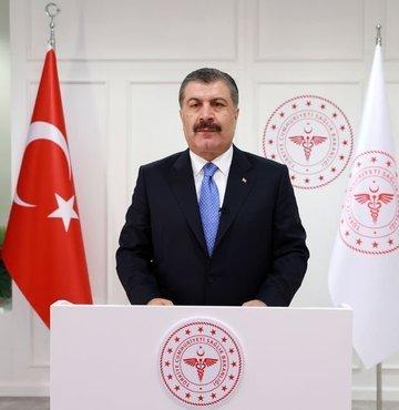 Sağlık Bakanı Fahrettin Koca,