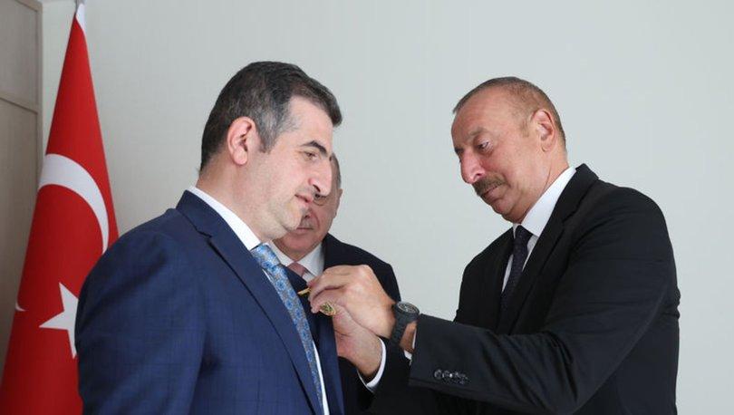 Azerbaycan Cumhurbaşkanı Aliyev'den Haluk Bayraktar'a Karabağ Nişanı - Son dakika haberleri