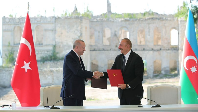 ŞUŞA BEYANNAMESİ! Son dakika: Cumhurbaşkanı Erdoğan ve Aliyev'den ortak açıklama - Haberler