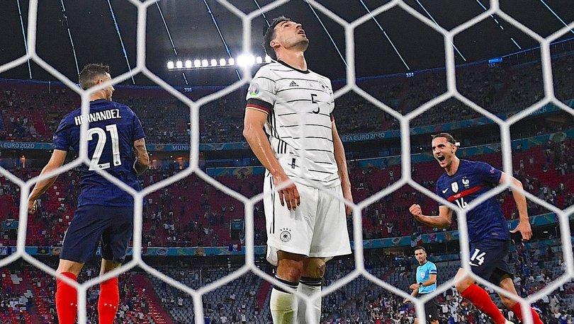 Fransa: 1 - Almanya: 0 MAÇ SONUCU