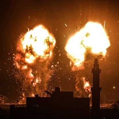 Son dakika... İsrail, ateşkesin ardından ilk kez Gazze'yi vurdu