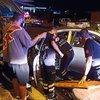 Hatay'da otomobil direğe çarptı: Polis öldü, eşi yaralandı