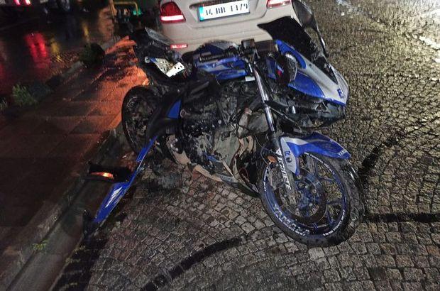 İstanbul'da feci kaza: Ayağı koptu