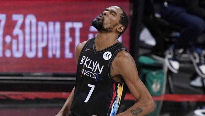 NBA'de Nets, Kevin Durant'in 49 sayı attığı maçta Bucks'ı mağlup etti
