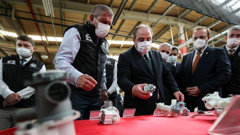 Bakan Varank: Hassas servo motorları Türkiye'de üreterek yurt dışına cari açık vermeyeceğiz