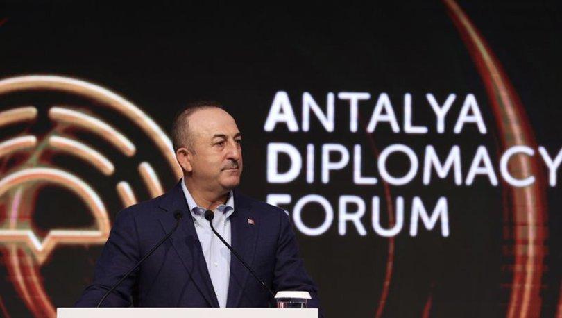 Dışişleri Bakanı Çavuşoğlu, GDAÜ ve Antalya Diplomasi Forumu öncesi basın toplantısında konuştu - Haberler