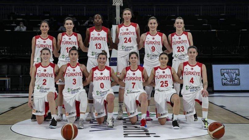 A Milli Kadın Basketbol Takımı, Avrupa Şampiyonası'nda sahne alıyor