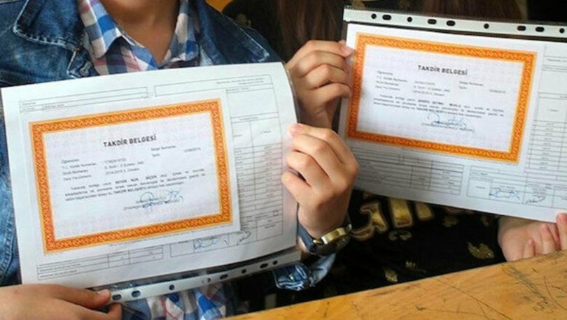 Karne notu ortalaması nasıl hesaplanır? E-okul Takdir-Teşekkür Belgesi puanı hesaplama