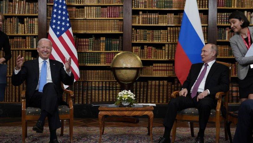 BÜYÜK BULUŞMA! Son Dakika: Cenevre'de kritik zirve başladı, Biden ile Putin bir arada! - Haberler