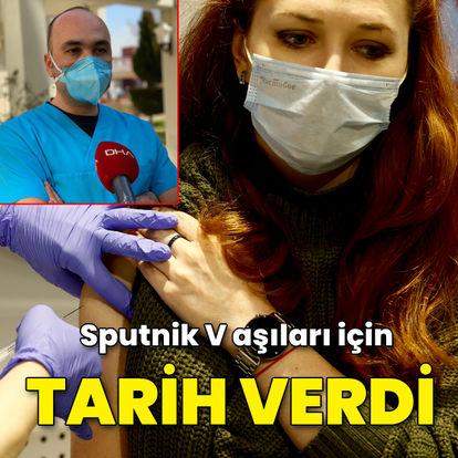 Sputnik V aşıları için tarih verdi!