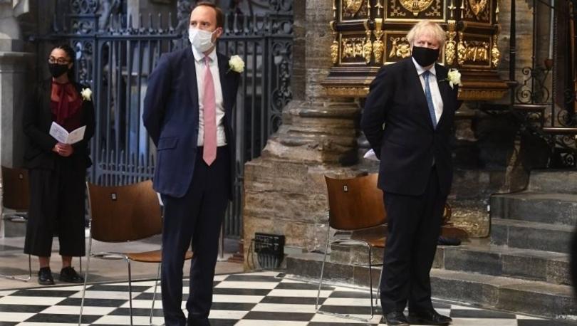 Covid: İngiltere Başbakanı Johnson'ın Sağlık Bakanı Hancok için küfürlü ifadeyle 'Umutsuz vaka' dediği ortaya çıktı
