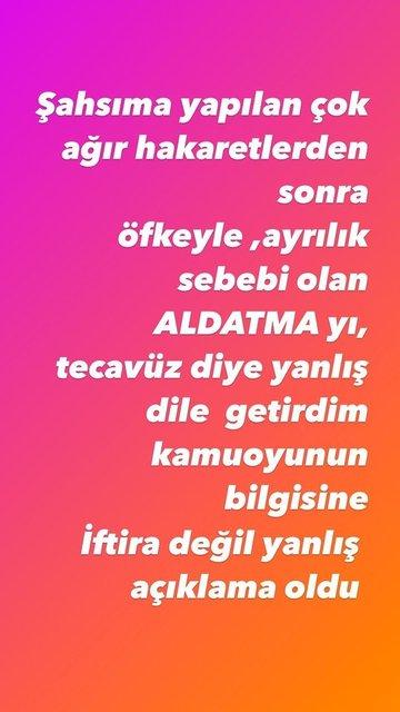 TECAVÜZ DEĞİL! Seda Sayan'dan yeni Mehmet Ali Erbil açıklaması- Son dakika Magazin haberleri