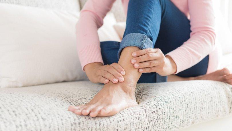 Ayak bileğindeki şişlik kolesterol habercisi olabilir - Haberler