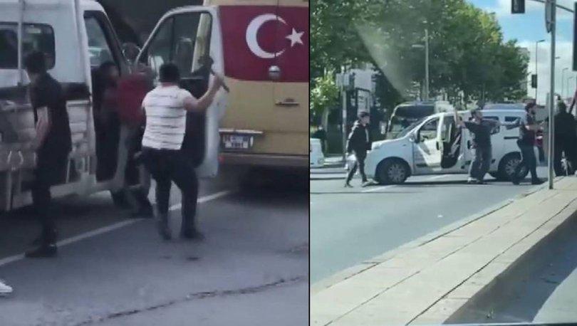 BALTALI DEHŞET! Son dakika: Yol verme kavgasında baltayla saldırdı - VİDEO HABER