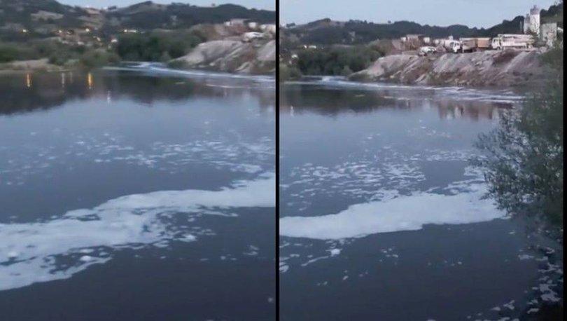 SON DAKİKA: Simav Çayı'ndaki köpürme endişelendirdi - Haberler