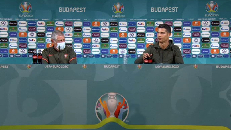 Ronaldo'ya Coca-Cola'ya tavrı sonrası 'iki yüzlülük' eleştirisi: 'Geçmişte reklamlarında oynadı'