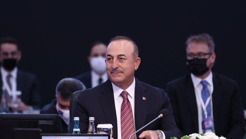 Bakan Çavuşoğlu, Güney Doğu Avrupa İşbirliği Süreci Dışişleri Bakanları Toplantısının açılışında konuştu