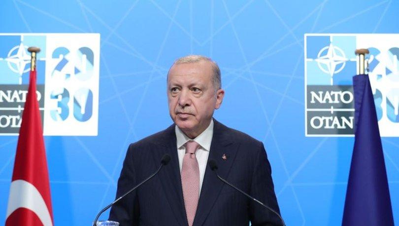 SON DAKİKA: Cumhurbaşkanı Erdoğan'dan NATO Zirvesi sonrası açıklamalar!