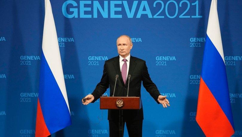 Putin, ABD askerlerinin Afganistan'dan çekilmesine ilişkin açıklamalarda bulundu