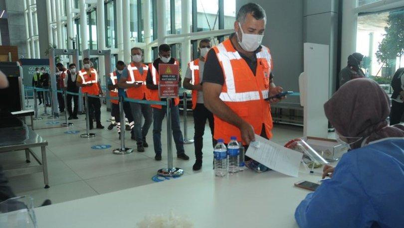 İstanbul Havalimanı aşı merkezinde, havalimanı çalışanları aşılanmaya başladı