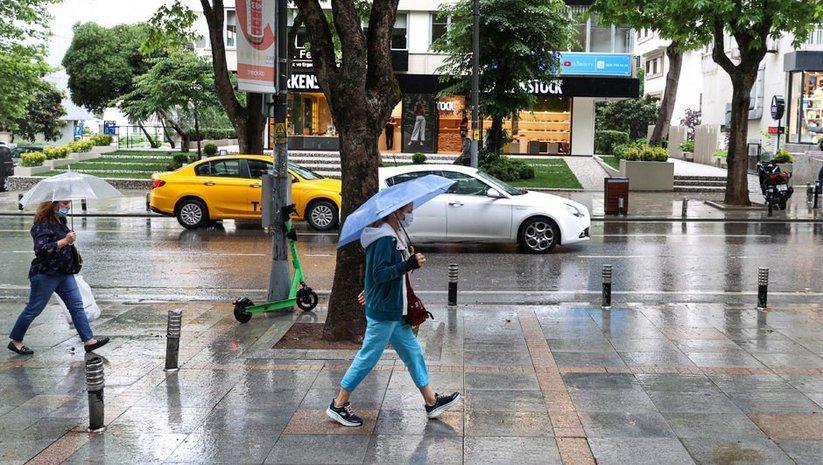 İstanbul için 'kuvvetli yağış' uyarısı!