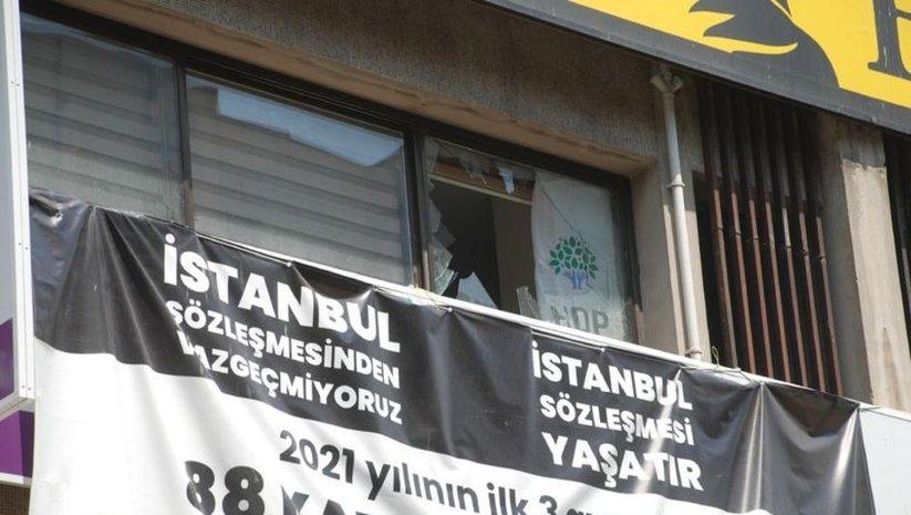 İzmir'de HDP binasına silahlı saldırı: 1 ölü