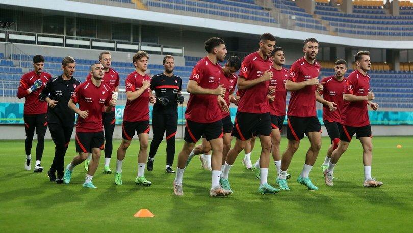 A Milli Futbol Takımı, İsviçre maçı hazırlıklarına başladı