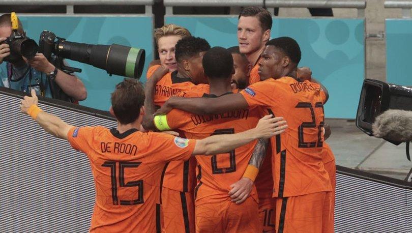 Hollanda: 2 - Avusturya: 0 | MAÇ SONUCU