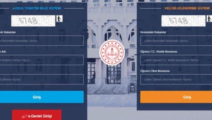E Okul karne notu sorgulama ekranı 2021... E Okul VBS dijital karne görüntüleme! Karne notu nasıl öğrenilir?
