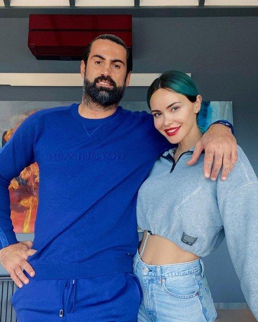 TATİLDE DE SPOR! Volkan Demirel-Zeynep Sever Demirel çifti, Bodrum'da! - Magazin haberleri