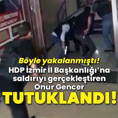 HDP saldırganın yakalanma anı! İlk sözleri: Bir kişiye ateş ettim