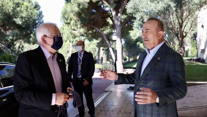SON DAKİKA: Dışişleri Bakanı Mevlüt Çavuşoğlu, AB Yüksek Temsilcisi Joseph Borrell ile görüştü