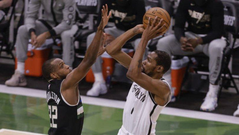 NBA'de Bucks, Nets'e karşı seriyi son maça taşıdı