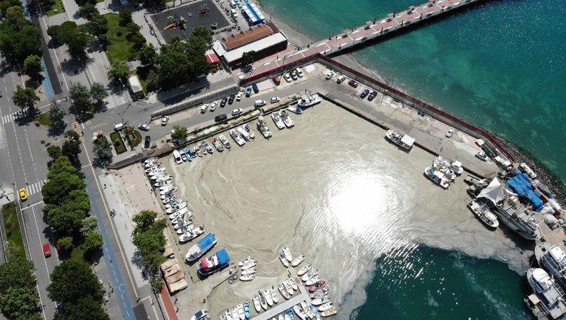 TERKİRDAĞ'DA KORKUNÇ GÖRÜNTÜ! Tekirdağ kıyıları yeniden müsilajla kaplandı - Haberler