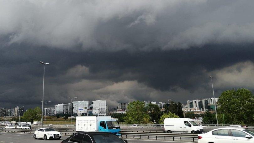 İstanbul karardı! Kuvvetli yağış başladı - Haberler