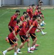 Galatasaray, 2021-2022 sezonu hazırlıklarına yaptığı çift antrenmanla devam etti.