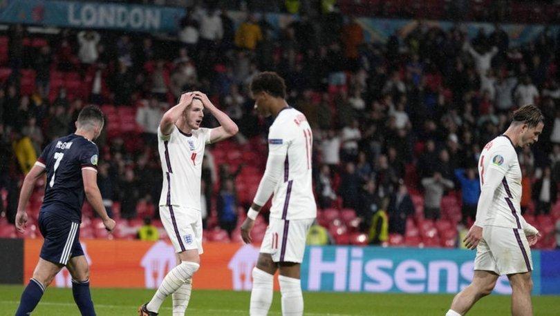 İngiltere: 0 - İskoçya: 0   MAÇ SONUCU