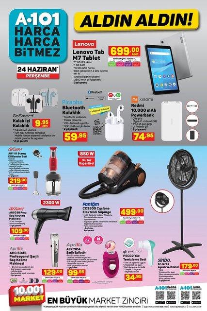 A101 BİM aktüel ürünler kataloğu! A101 BİM 22-24 Haziran aktüel kataloğu! Tüm liste