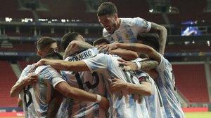 Arjantin'den ilk zafer!