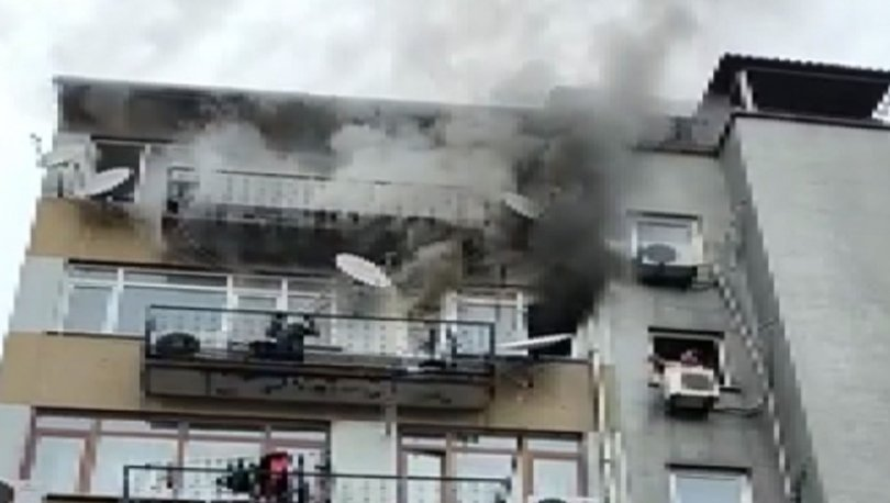 CAN PAZARI! Son dakika: Fatih'te 6 katlı apartmanda yangın paniği! - Haberler
