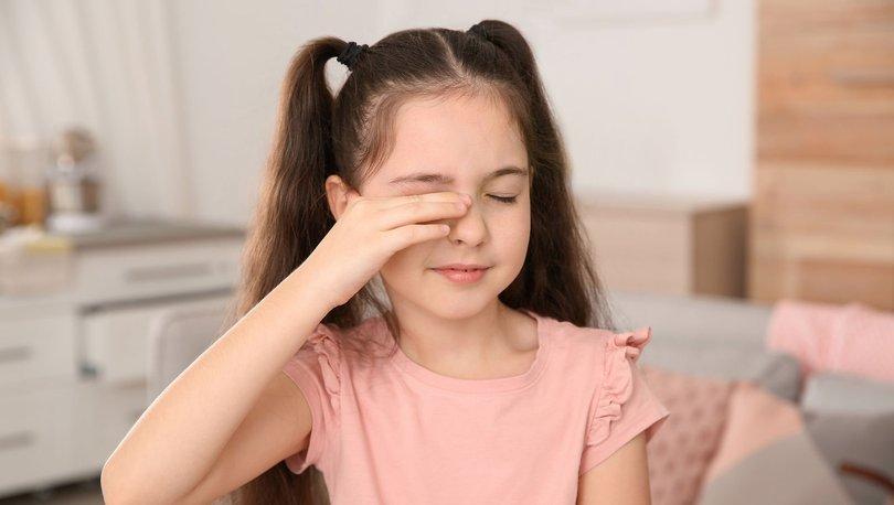 Çocuk gözünü sürekli kırpıyor ve ovuşturuyorsa dikkat!