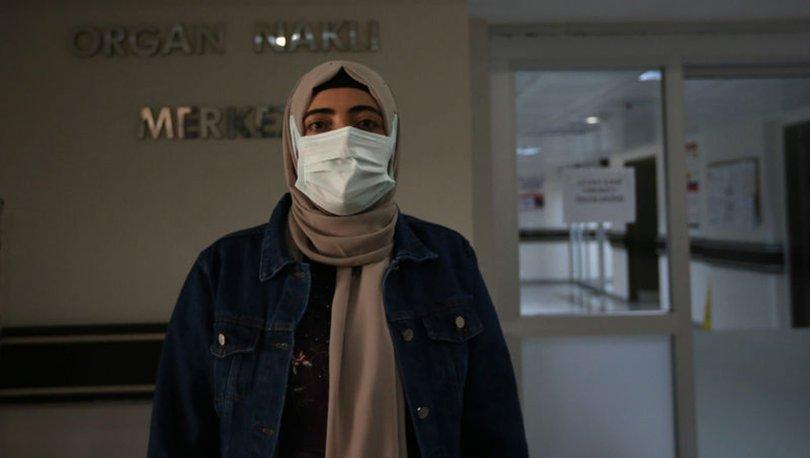 Karaciğer yetmezliğinden yoğun bakımda bulunan kadın, doku nakliyle hayata tutundu
