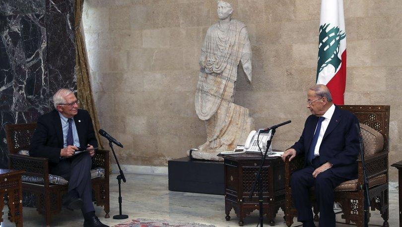 Avrupa Birliği Dış İlişkiler ve Güvenlik Politikası Yüksek Temsilcisi Borrell, Lübnan'da