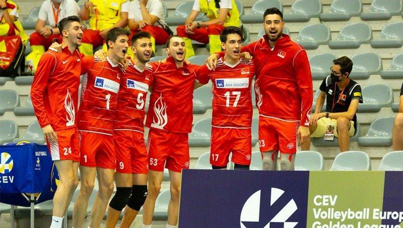 Estonya: 2 - Türkiye: 3 MAÇ SONUCU